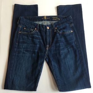 7 for all mankind KIMMIE STRAIGHT LEG size 28